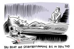 Urteil des Bundesgerichtshofs: Ärzte dürfen Patienten sterben lassen