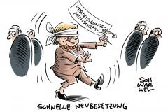 """Vakanter Posten: Merkel will von der Leyens Position """"sehr schnell"""" neu besetzen"""