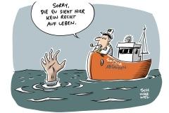 Karikatur Schwarwel