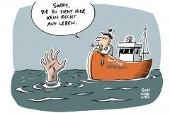 Notfallplan für Bootsflüchtlinge: Ein offener Brief an die Kanzlerin