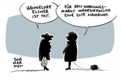 Trauer um Schauspielerin: Hannelore Elsner mit 76 Jahren gestorben