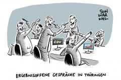 Brief von 17 CDU-Politikern nach Thüringen-Wahl: Kritik an CDU-Appell zu Gesprächen mit AfD