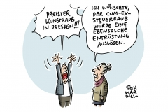 """Dresdner Grünes Gewölbe: Juwelen von """"unschätzbarem Wert"""" gestohlen"""", Cum-Ex-Skandal: Großkanzlei gerät unter Generalverdacht"""