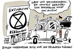 """Extinction Rebellion"""" weltweit: Festnahmen bei Klima-Protesten mit zivilem Ungehorsam"""