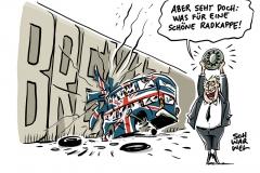 EU-Austrittsverhandlungen: London hält Brexit-Deal für ziemlich unmöglich
