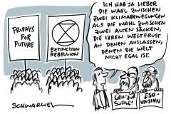 """Klimaaktivismus: """"Wenn das Klima kippt, kippt auch die Demokratie"""""""
