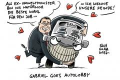Automobilverband sucht neuen Präsidenten:  Gabriel erste Wahl für Auto-Lobby