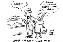 """Gerichtsbeschluss: Björn Höcke darf als """"Faschist"""" bezeichnet werden"""
