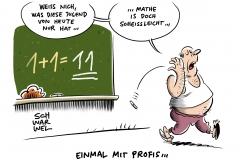 """Nach Kritik an bayerischer Matheprüfung: Auch Berliner Abiturklausur laut Umfrage """"zu schwer"""""""