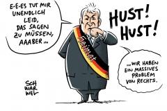Seehofer – Politisch motivierte Kriminalität: Massives Problem von rechts