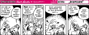 Schweinevogel Comic Schwarwel