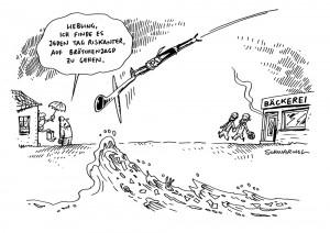 euro hawk flut deutschland homo-ehe karikatur schwarwel