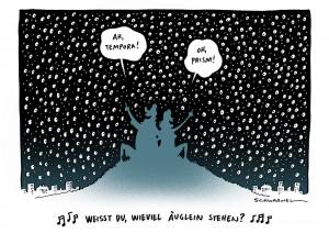 US-Geheimdienst NSA spioniert Millionen Deutsche aus Karikatur Schwarwel
