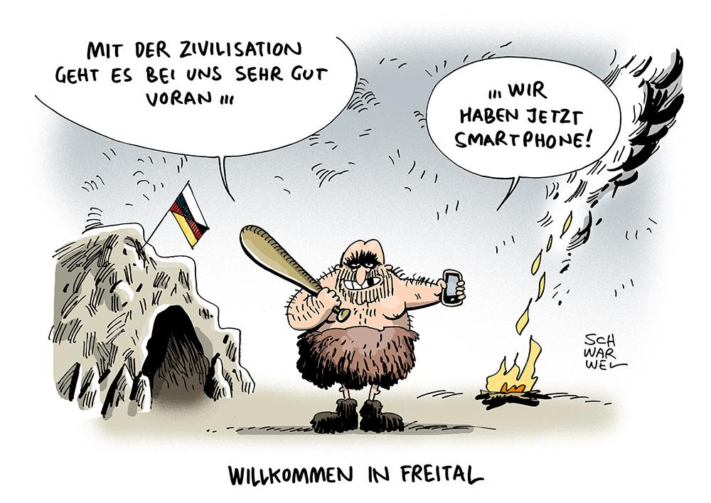 Karikaturen Juni 2015 171 Schwarwel De