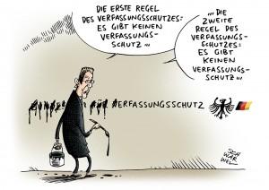 Landesverrat: Verfassungsschutzpräsident Maaßen zeigt Journalisten an