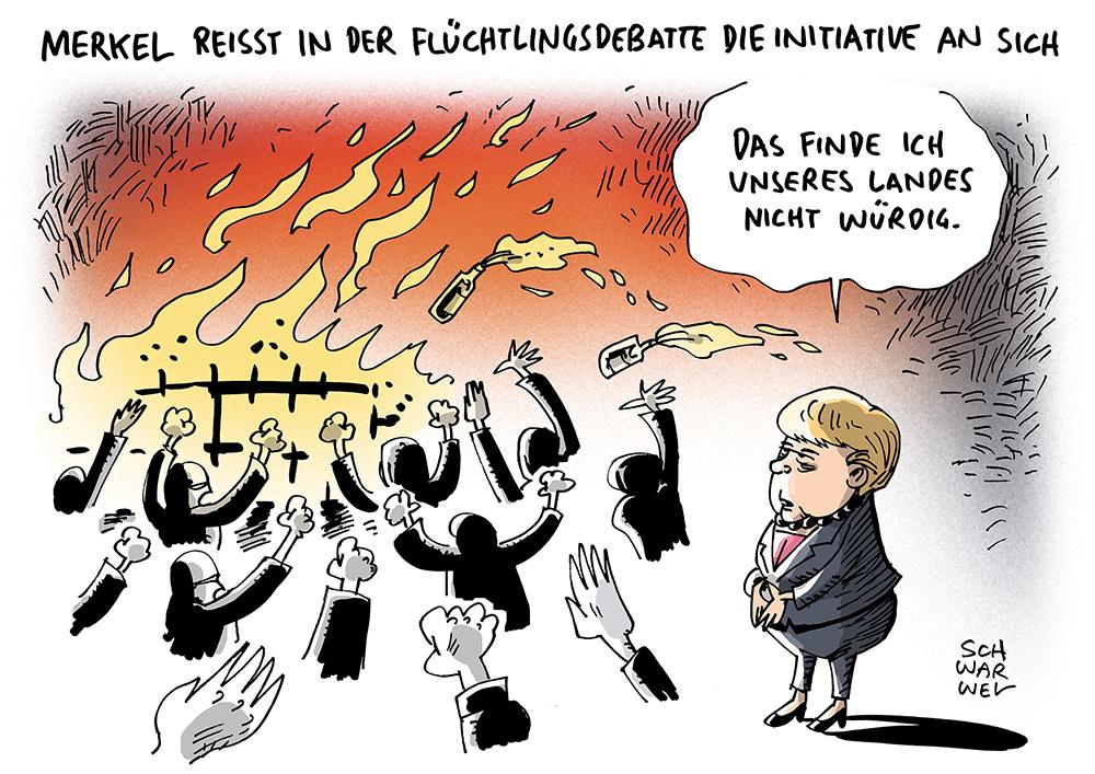 gewalt von flüchtlingen