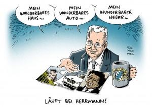 """Bayerns CSU-Innenminister: """"Neger""""-Äußerung von Herrmann sorgt für Shitstorm"""