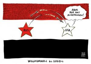 Syrien: Russische Kampfjets sollen US-Verbündete angegriffen haben