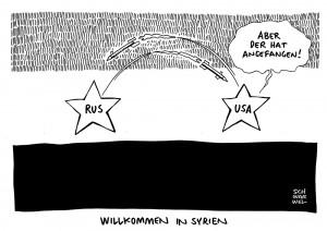 151001syrien-Syrien: Russische Kampfjets sollen US-Verbündete angegriffen haben-1000