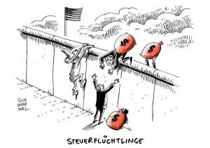 Steuerflucht: US-Konzerne bunkern 2,1 Billionen Dollar in Steueroasen
