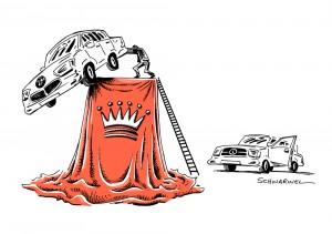Premium-Autobauer: Daimler kratzt am Thron von BMW