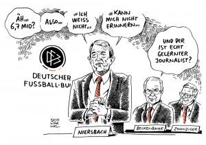 WM 2006 und der DFB: Niersbach steht allein da