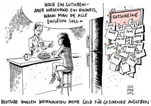 Erste Weihnachtsumfrage ist da: Deutsche wollen 2015 mehr Geld für Geschenke ausgeben