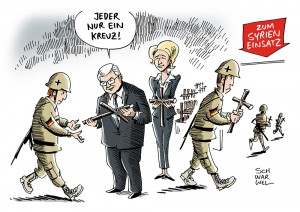 Bundeswehreinsatz in Syrien: Laut Steinmeier Konflikt am Ende nicht militärisch lösbar