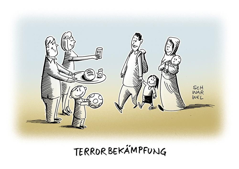 Kampf gegen den Terror: Nach Anschlägen in Brüssel wird über bessere Terrorbekämpfung diskutiert