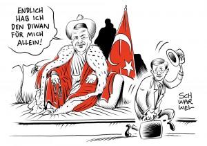 Machtkampf in der Türkei entschieden:  Premier Davutoglu verliert gegen Erdogan
