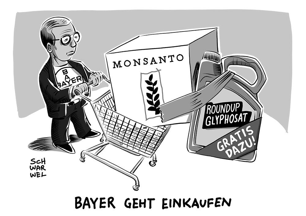 Bildergebnis für Bayer glyphosat