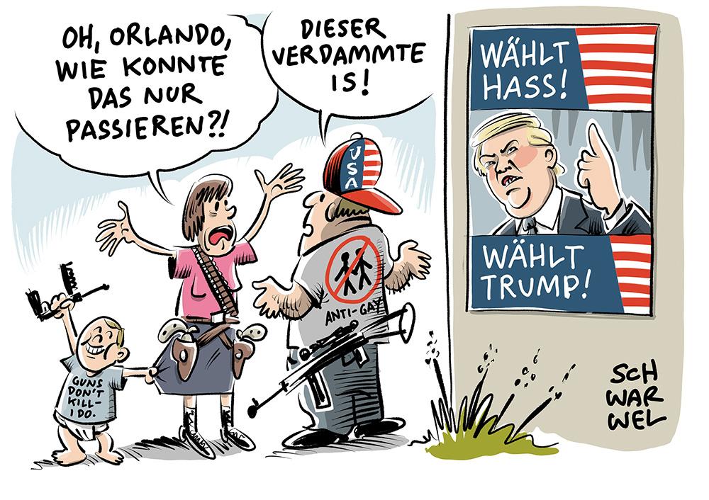 Orlando-Attentäter: Getrieben von Hass, infiziert vom IS