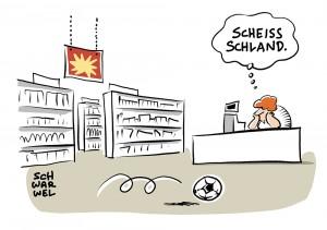 EM 2016 am Samstagabend: Der Klassiker Deutschland gegen Italien