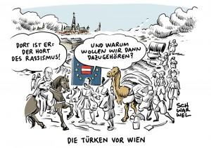 """Türkei empört über Kern im Streit um EU-Beitritt: Cavusoglu: """"Österreich ist Hort des Rassismus"""" – Außenminister Kurz weist türkische Regierung zurecht"""