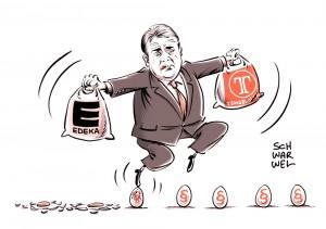 Klage wegen Supermarkt-Übernahme: Gabriel packt die Brechstange aus