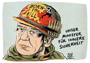 """Ausländerrecht soll verschärft werden: De Maizière will """"Härte und Entschlossenheit"""""""