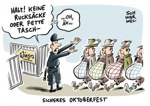 Reaktion auf Gewalttaten: München verhängt Rucksackverbot für die Wiesn
