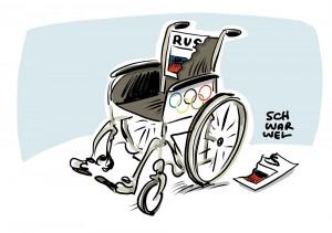 Folgen des Dopings: Paralympics komplett ohne Russland
