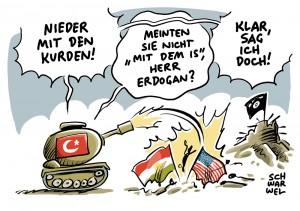 Türkische Militäroperation in Syrien: Der IS ist Vorwand, die Kurden sind Ziel