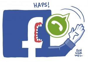 Datenschutz: WhatsApp leitet Telefonnummer an Facebook weiter