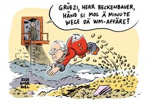 Schweizer Justiz zur WM-Affäre: Ermittlungen gegen Beckenbauer wegen Geldwäsche und Untreue