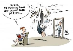Drohende US-Rekordstrafe: Keine Staatshilfe für Deutsche Bank - Aktie stürzt ab