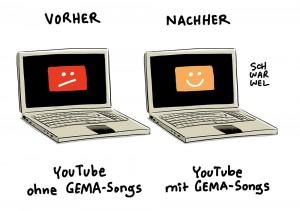 YouTube & GEMA: Einigung nach erbittertem Streit