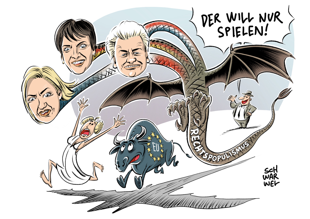 karikatur-schwarwel-rechtspopulismus