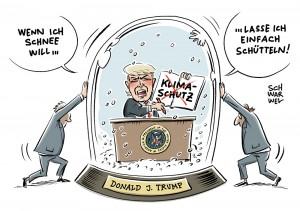 USA und Klimawandel: Trump unterschreibt Dekret gegen Klimaschutz