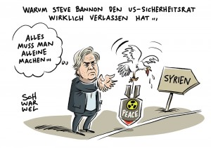 Umstrittener Chefstratege: Trump entlässt Steve Bannon aus Nationalem Sicherheitsrat