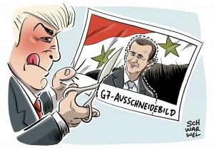 G7-Treffen in Italien: Keine Syrien-Lösung mit Assad an der Macht