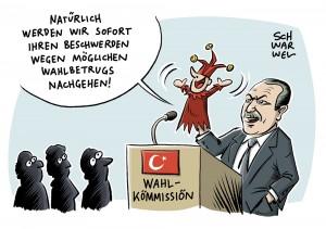 Streit über Verfassungsreferendum: Türkische Wahlkommission prüft Beschwerden