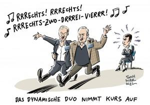 AfD-Parteitag in Köln: Rechtes Spitzenduo Weidel und Gauland, Petry im Aus
