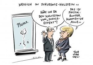 Wahl in Schleswig-Holstein: SPD verliert Wähler an die CDU